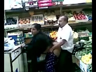 Boob Grab and Fuck in Fruit Shop   shop