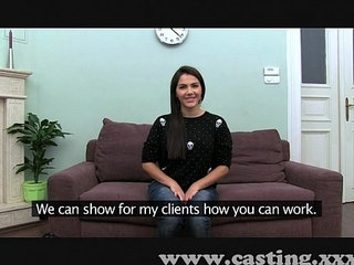 Casting Hot Italian Babe in interview   castinginterviewitalian