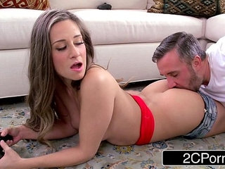 Jerk That Joy Stick Cassidy Klein Wants to Play Video Games and Fuck | gamesjerk off