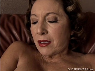 Gorgeous granny with nice big tits fucks her juicy pussy for you | big titsgorgeousjuicy