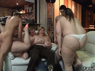 Chubby party girl gives head and boned from behind | ass fuckingchubbygirlparty