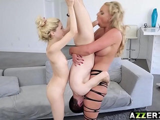Hot thief Phoenix sex lesson with Piper and Jordi | old manschool