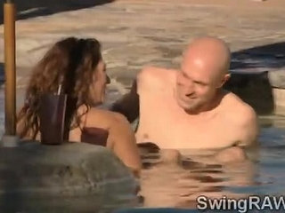 This pool party is an excuse to make swinger couples get nasty | couplenastypartypoolswingers
