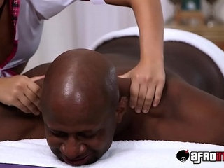 Pretty young masseuse Amara Romani devastated by clients bbc | bbcmassageprettyyoung