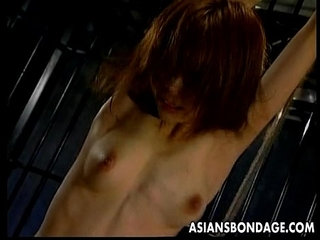 Asian girl gets orgasm while bound | asianorgasm