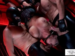 Hot fetish fucking with big titted cunts Kerry Louise and Elle Brook | cuntfetishtitjob