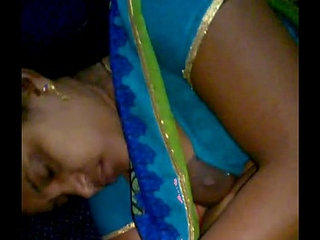 Rajam mallu aunty forget to hook her blouse after giving milk to copassenger   auntymilk