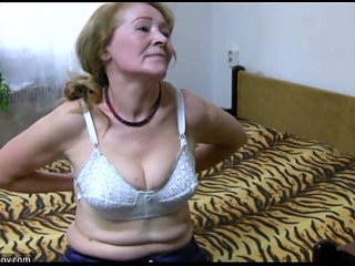 OldNanny Old granny is playing with young man and sextoy | grannyolderolder womanyoung