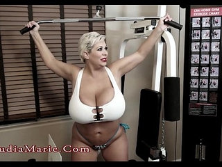 Claudia marie huge tits gym | gymhuge tits