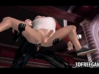 This guy gets fucked by two hot babe in 3D leather suits | 3dbabegayleather